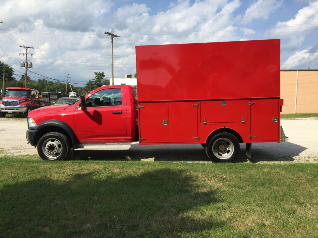 Theis Services Truck Tiffin Ohio heating, cooling plumbing electrical services.